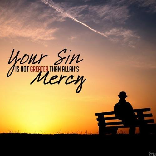 Dosamu TIDAK LEBIH BESAR daripada AMPUNAN ALLAAH